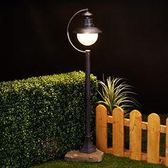 Rdzawe oświetlenie ścieżek EDDIE, IP44 9630003