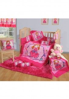 Baby Crib Set (7 Pcs)