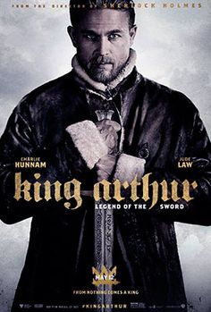 King Arthur : Legend of the Sword (may - Directed by Guy Ritchie, Starring Charlie Hunnam, Annabelle Wallis, Eric Bana, Jude Law King Arthur 2017, King Arthur Legend, Roi Arthur, King Arthur Film, Eric Bana, Jude Law, Hd Movies Online, New Movies, 2017 Movies