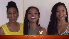 Chloe x Halle and Anika Noni Rose Perform 'Almost There' - The Disney Family Singalong: Volume II Happy Birthday Mickey Mouse, Chloe X Halle, Almost There, Disney Family, Dreaming Of You, Celebrities, Youtube, Internet, Artists