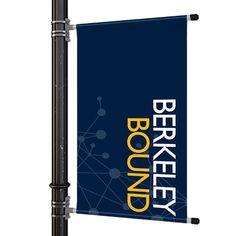 "hardware 24/"" pole banner brackets MBS Street banner pole kit"