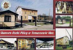 Pocztówkowe podróże po Polsce: SKANSEN RZEKI PILICY
