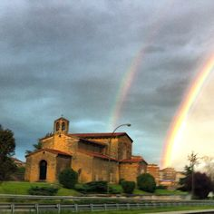 Luz y agua; color #asturias #in #Oviedo San Julian de los Prados