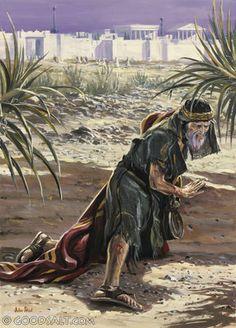 1 Kings 19: Elijah escapes Jezebel