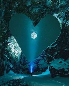 Valentine's Day Hearts inspired by nature photos) - Have Some Fun Beautiful Moon, Beautiful World, Beautiful Places, Beautiful Pictures, Beautiful Scenery, Amazing Places, Beautiful People, Stars Night, Stars And Moon