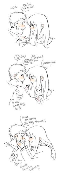 Naruto and Hinata. Only Naruto.