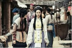 """Gyebaek(Hangul:계백;hanja:階伯) is a 2011South Koreanperiod(""""costume"""")drama series, starringLee Seo-jin,Cho Jae-hyun,Oh Yeon-soo, andSong Ji-hyo. It aired onMBCfrom July 23 to November 22, 2011 on Mondays and Tuesdays at 21:55 for 32 episodes. Set in theBaekjekingdom in the mid-7th century, the drama chronicles the life and times of the storied warrior GeneralGyebaekwho is remembered in history for leading Baekje's last stand against theSillain theBattle of Hwangsanbeol."""
