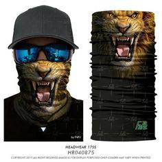 Tiger 3D Animal Bandana Face Mask