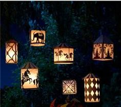 These fun paper lanterns will brighten up any nightly occasion. Cricut® Lite Carousel Cartridge