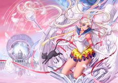 Silver Moon Crystal Power Kiss!, byeclosion