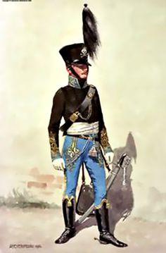 Ufficiale di stato maggiore nel 1815