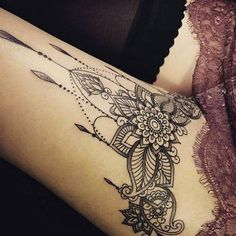 Image result for mandala tattoo ankle