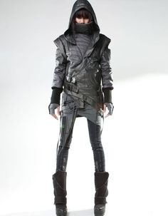 Post-Apocalyptic Leather Ensembles - Look Great in the Despondent Future with This Demobaza Line (GALLERY)