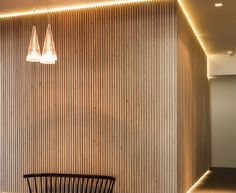 Flos Wood Wall, Indirect lighting