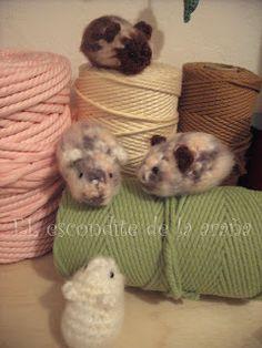hamster amigurumi