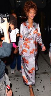 Kimonos are the new trend. From floral prints to meanswear laps, here are some looks to inspire: