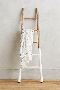 White-Dipped Ladder #anthropologie.....use saguaro ribs