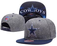 50f2f872521 Dallas Cowboys Charcoal Gray Snapback Hats Galaxy UnderBrim