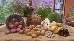 Bodegón de patatas