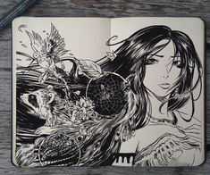 #139 Pocahontas by Picolo-kun Art Disney, Disney Fantasy, Sketchbook Inspiration, Art Sketchbook, Disney Drawings, Art Drawings, Tribal Drawings, Gabriel Picolo, Illustrations