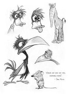 Cartoon Sketches, Animal Sketches, Animal Drawings, Cartoon Art, Weird Drawings, Cool Art Drawings, Art Drawings Sketches, Pencil Drawings, Character Sketches