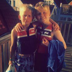 Photo from @marenkittelsen | Gutta  #hellyhansen#boat#boys#summer#kids#cute#holmsbu#holiday
