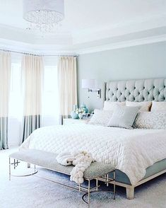 Design Ideas for a Perfect #MasterBedroom Times have changed and so has been the idea of a perfect master bedroom. There could be 2 or 3 bedrooms in a house, but there is only one master bedroom. The room is meant for the couple- it could be a newlywed co