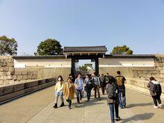Sakuramon Gate, Ōsaka Castle in Japan
