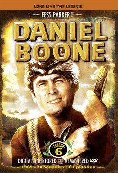series television antiguas y actuales: DANIEL BOONE
