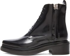 Acne Studios Linden Leather Boots