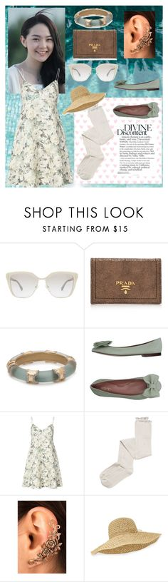 """~Tea time~"" by hawaiianmahomie on Polyvore featuring Prada, RED Valentino, CHUP, Zimmermann, Intimately Free People and Helen Kaminski"