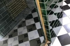 "9""x3"" emerald tiles Victorian Tiles, Feature Tiles, Emerald, Ceramics, Bathroom, Gallery, House, Ceramica, Washroom"