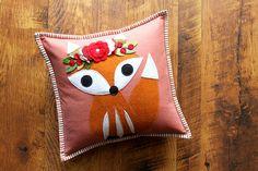 Holiday Fox Pillow Making : : | Maureen Cracknell Handmade | Bloglovin'