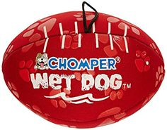 Phillips Food Supply CHOMPERS TOYS 166063 Wet Dogs Neopren Football for Pets 7 >>> Check out this great product.