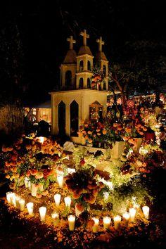Ofrenda dia de los muertos altar