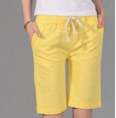 4fa9ebb74d0 Dámské letní kraťasy žluté – kraťasy dámské + POŠTOVNÉ ZDARMA Na tento  produkt se vztahuje nejen
