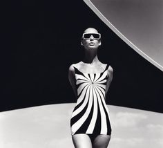 1960's op art fashion