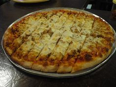 Frank's Sausage and Cheese Pizza is some of the best I have ever had! Stop by if you're ever near Bettendorf Iowa!