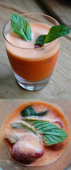 For hot summer days I recommend this drink: CARROT COOLER. This recipe gives me positive energy for the whole day. I drink it every morning before leaving home, but it can be served during the whole day.