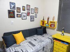 Leitor reforma sozinho seu próprio quarto em apenas seis dias - Casa