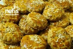 Cookie Recipe With Oil, Cookie Recipes, Turkish Recipes, Ethnic Recipes, Starbucks Recipes, Pastry Cake, Homemade Beauty Products, Pretzel Bites, Muffin
