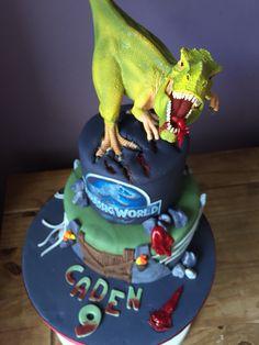 Jurassic World cake!
