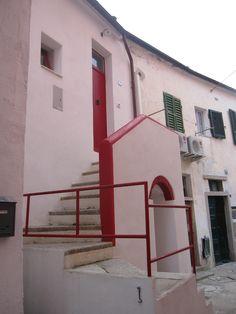 Coloured houses in Giglio Porto, Giglio Island, #maremma, #tuscany, #italy