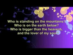 This was done in powerpoint and converted to video. I don't know who does this song but it sounds something like the Gaithers.