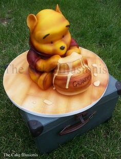 ~the cake illusionist | Gallery - Pooh Bear~