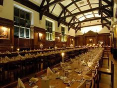 Selwyn College Dining Hall- ate lots of potatoes here