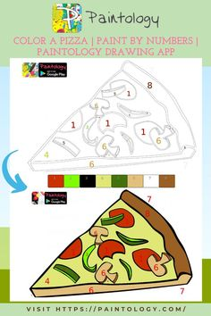 In this drawing of the pizza, you will find the subject fairly easy to do. It is a perfect way for beginners to get into drawing on their phone. The paintology–paint by numbers has a few brushes but you can do a lot with them! Check out the other paintology app series to see what one can do with just one brush. I have created photo realistic drawings with one brush tool, so you can understand. Check out one of my YouTube video to see me in action. #paintbynumbers #digitaldrawing #digitalpainting
