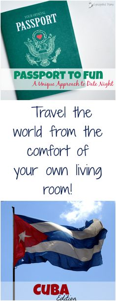 Travel the world from the comfort of your living room with this Passport to Fun series! Whether you use these ideas as a date night, family...