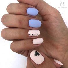 pale color on nails