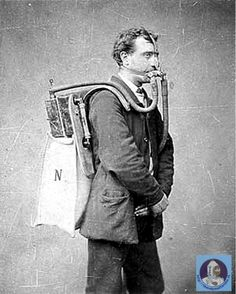 1878 - REBREATHER - Henry Fleuss was granted a patent for the first practical rebreather.